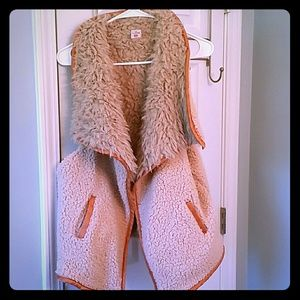 Brand New Wool and Caramel Vest Size XL